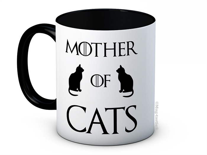 Mother Of Cats Mug Game Of Thrones